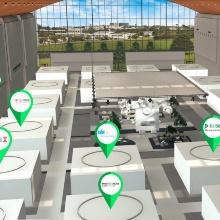 Messehalle KOMPENEX 2020